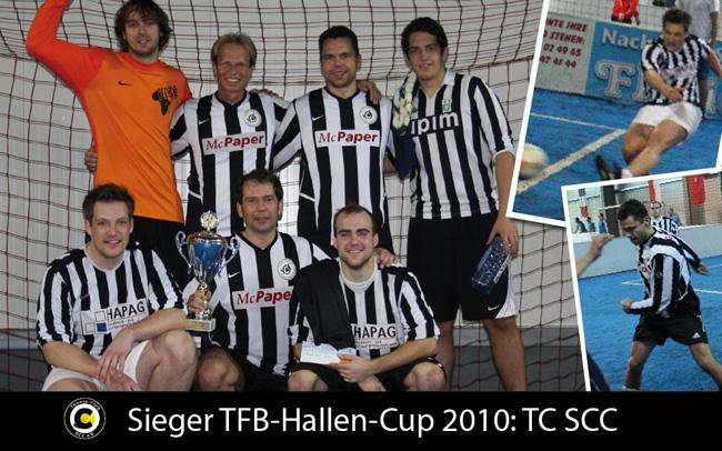 Links oben: Hermann Tydecks, Jens Thron, Fabian Gador, Christian Fischer. Unten links: Alexander Kupsch, Carsten Späth, Mathias Krämer.