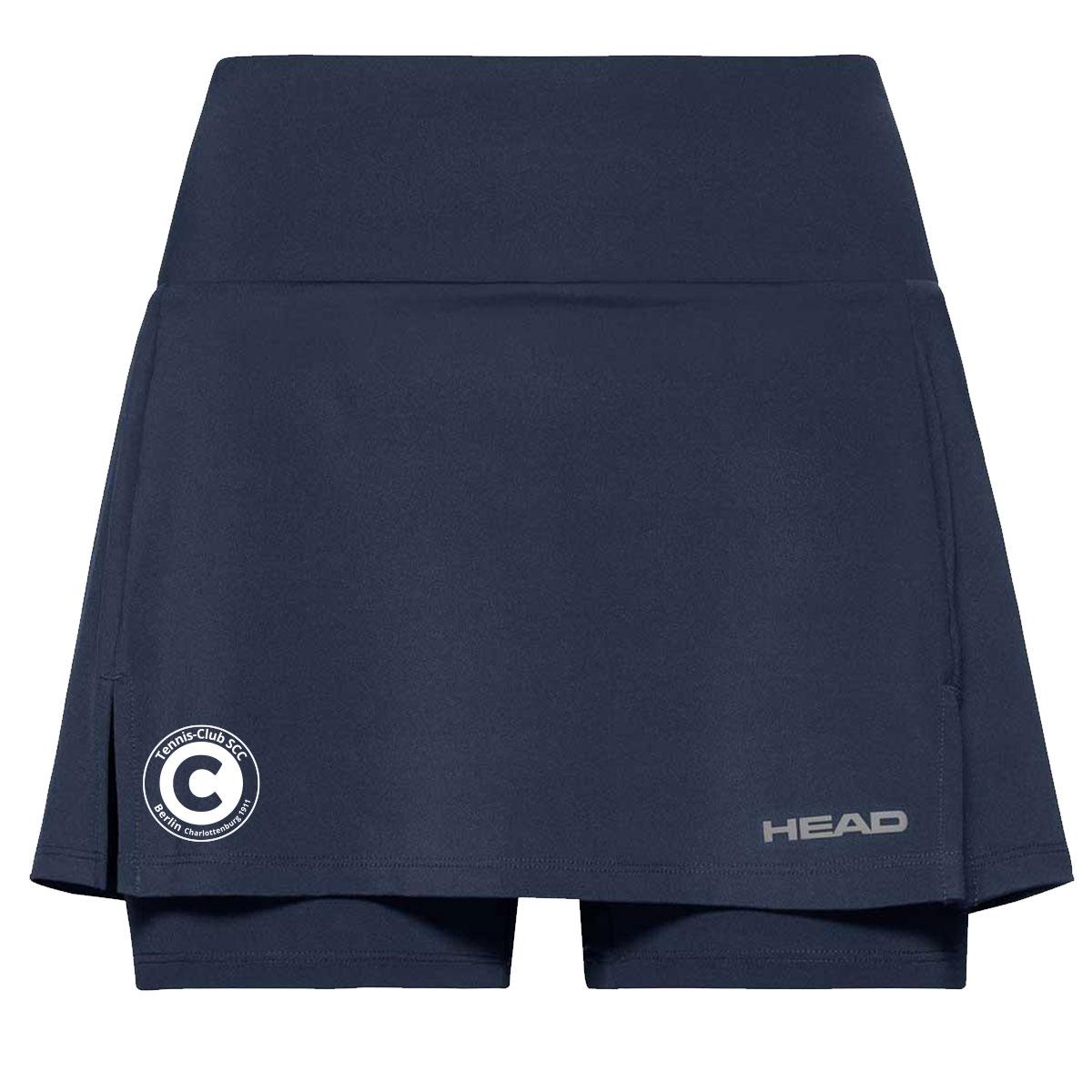 HEAD Club Basic Skort dunkelblau