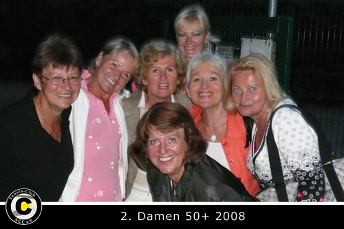 2. Damen 50+ von links: Hannelore, Christel, Dani , Brigitte, Gabi, Bärbel, Raili.