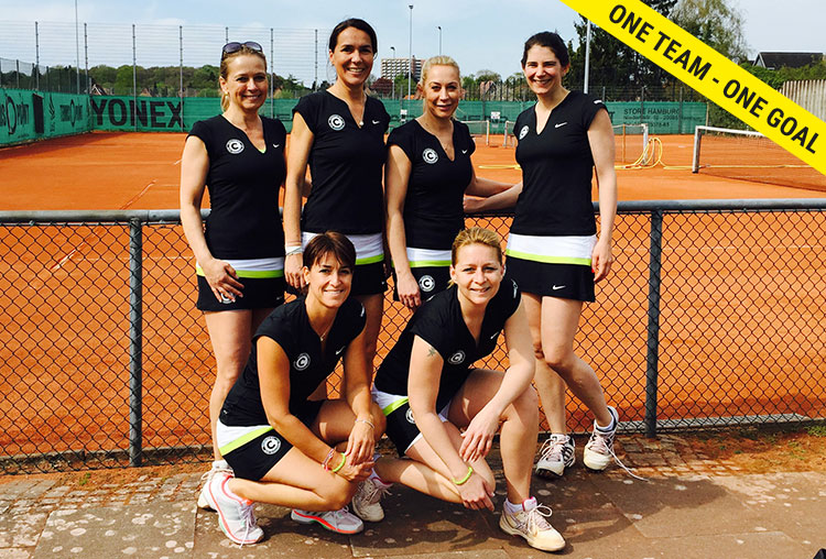 Tennis-Club SCC: 1. Damen 30 Regionalliga 2015